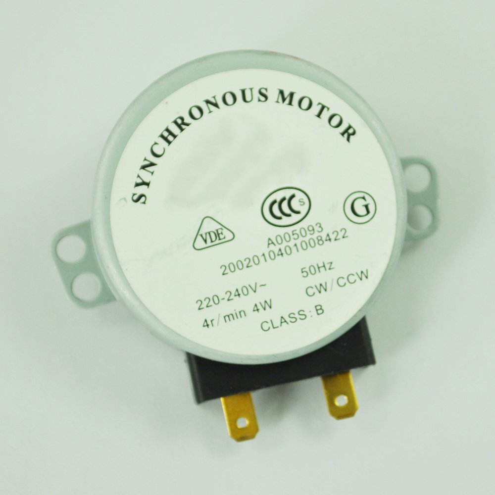 8-10 RPM Turntable Synchronous Motor For Microwave Oven AC 220-240V 4W CCW//CW