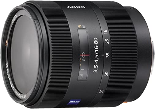 Sony Sal1680z Allround Objektiv Schwarz Kamera