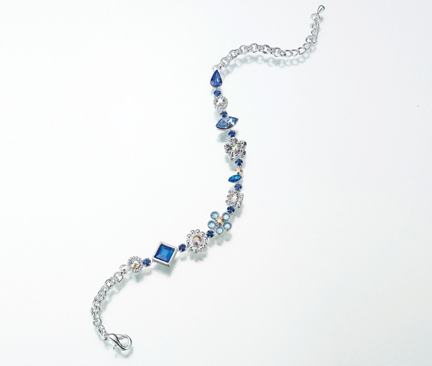 Lillian Rose Something Blue Bride Jewelry Ankle Bracelet