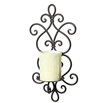 Ambiente Haus ambiente haus 92086 wall light 36 cm black amazon co uk kitchen home