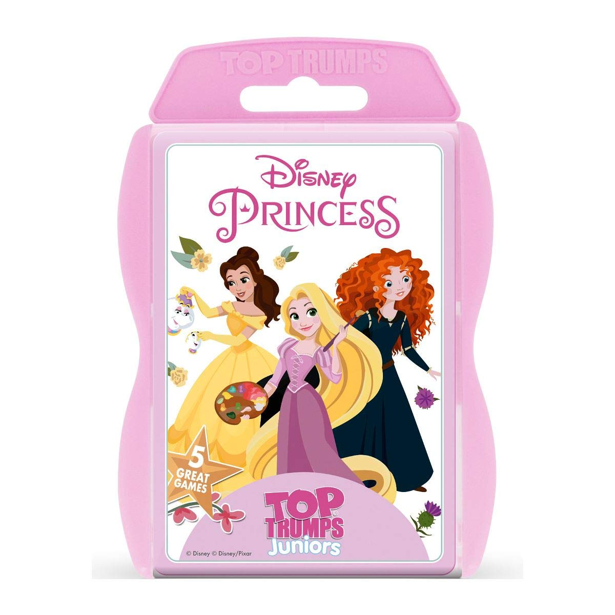 dbca7213720 Top Trumps Disney Princess Junior Card Game  Amazon.co.uk  Toys   Games