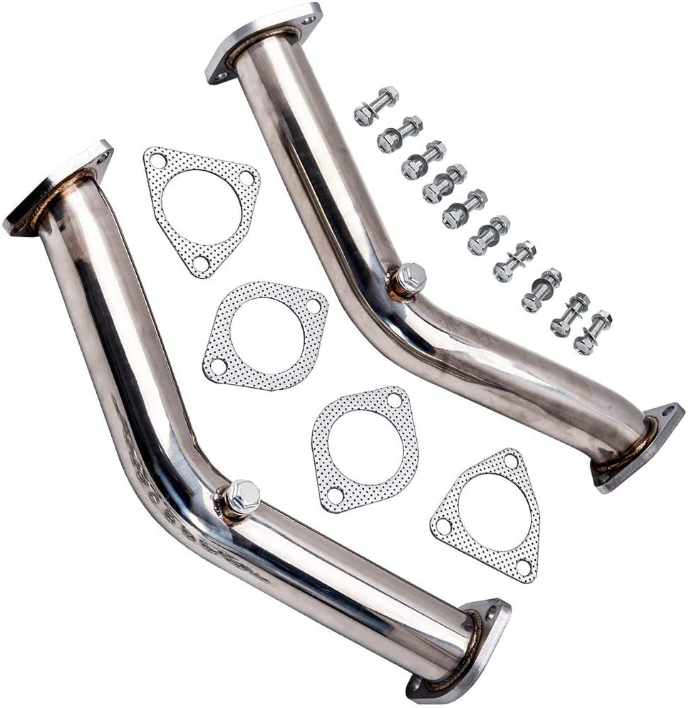 Exhaust Pipe Non Reson Straight Exhaust Fits for Nissan 350z Infiniti G35 FX35