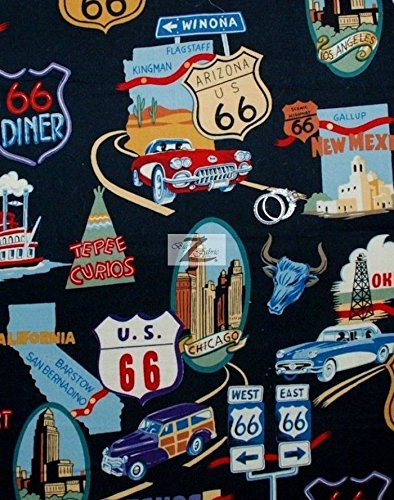 Route 66 Fabric - 6