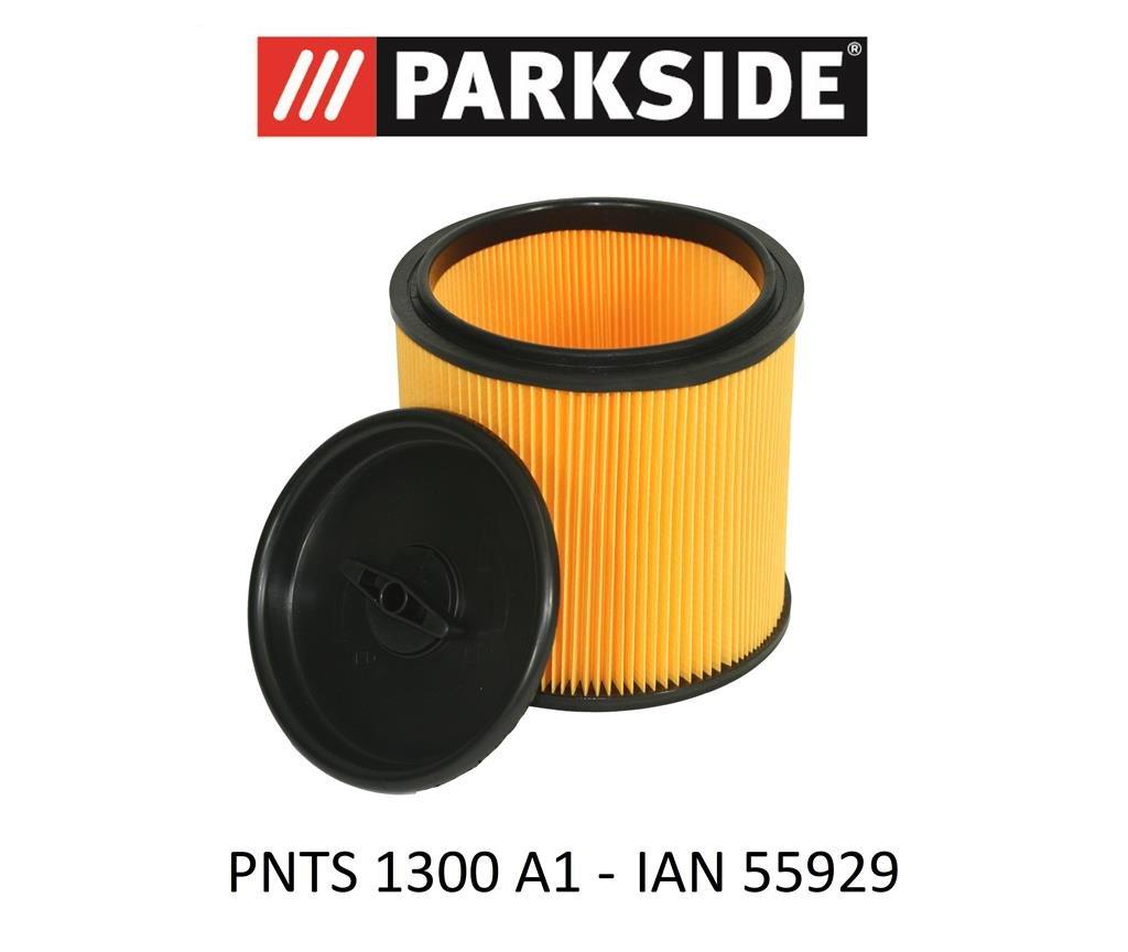 Filterpatrone geeignet Parkside PNTS 1400 D1 Nass Trocken Sauger auswaschbar