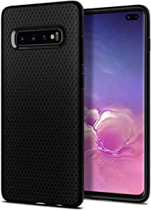 Spigen Liquid Air Armor Designed for Samsung Galaxy S10 Plus Case (2019) - Matte Black