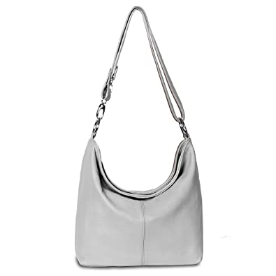 d6c299b492db2 CASPAR Damen Ledertasche Schultertasche   Umhängetasche Handtasche aus  italienischem Leder