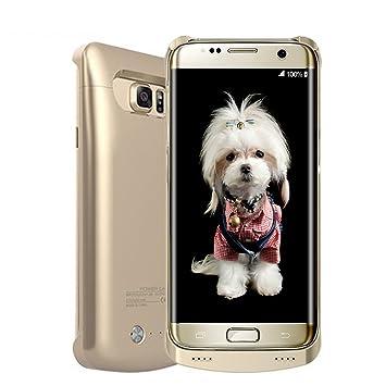 S6 Edge Plus Carcasa de batería,ALCLAP 4200 mAh cargador externo portátil de copia de seguridad recargable Power Pack para Samsung Galaxy S6 Edge Plus ...