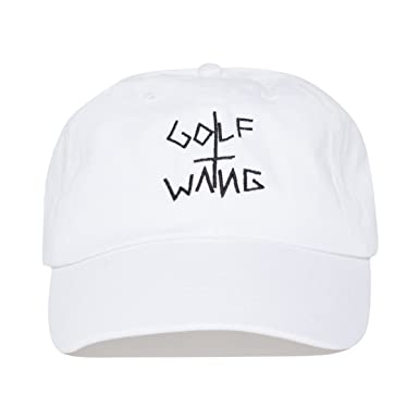 Tyler The Creator Golf Wang Hat - White  Amazon.co.uk  Clothing 67f52361055a