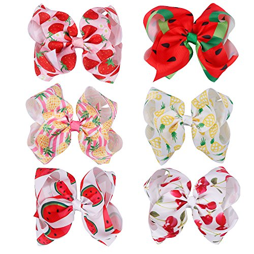 Girls Fruit Grosgrain Ribbon Alligator product image