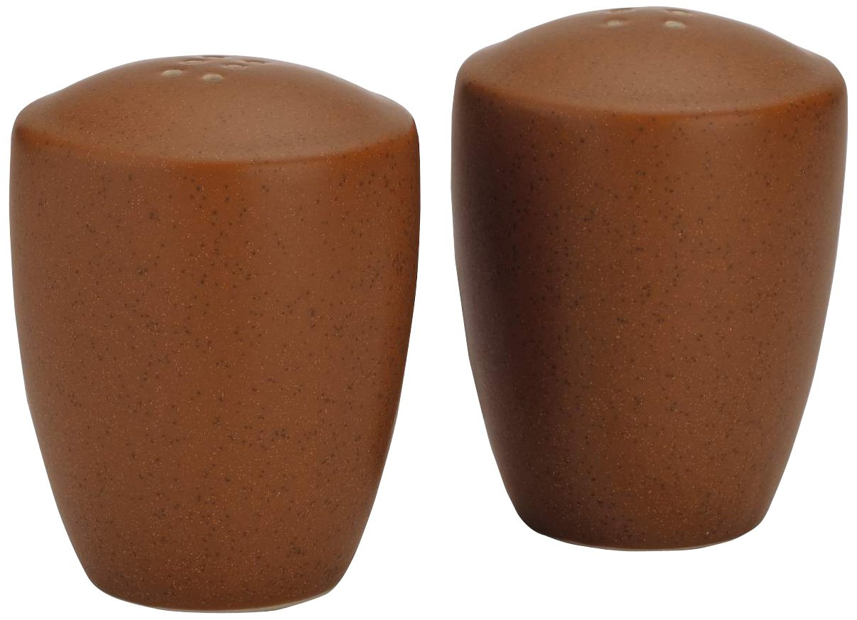 Noritake Colorwave Terra Cotta Salt and Pepper