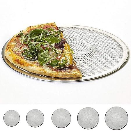 Bandeja de horno de malla plana de aluminio para pizza de 15,24 cm ...