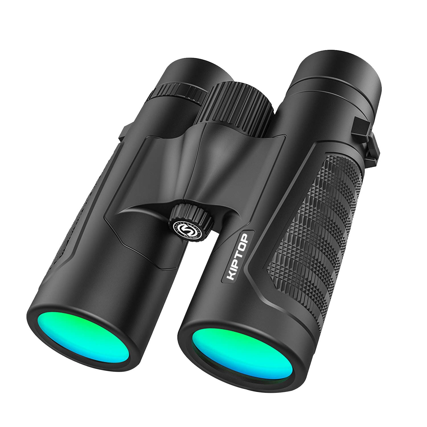 KIPTOP 12 x 42 Professional Binoculars, BAK4 Lens Material HD Color Binoculars, Extra Wide Field of View with True High Clarity for Bird Watching, Hiking, Traveling, Hunting and Sports