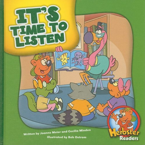 It's Time to Listen (Herbster Readers: First Day of School: Level 2)