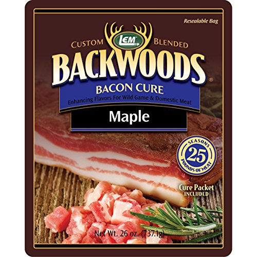 LEM BACKWOODS MAPLE BACON CURE Use as a dry rub or wet brine! Making Homemade Bacon Is Easier Than You Think!