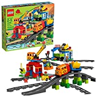 Deals on LEGO DUPLO Town Deluxe Train Set 10508 134 Pieces