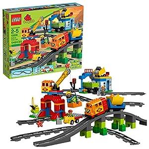 LEGO DUPLO Town Deluxe Train Set 10508 (134 Pieces)