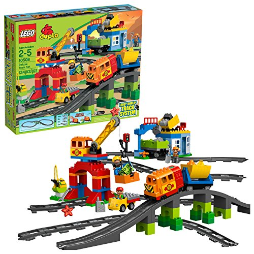 LEGO DUPLO Town Deluxe Train Set 10508 (134 Pieces)