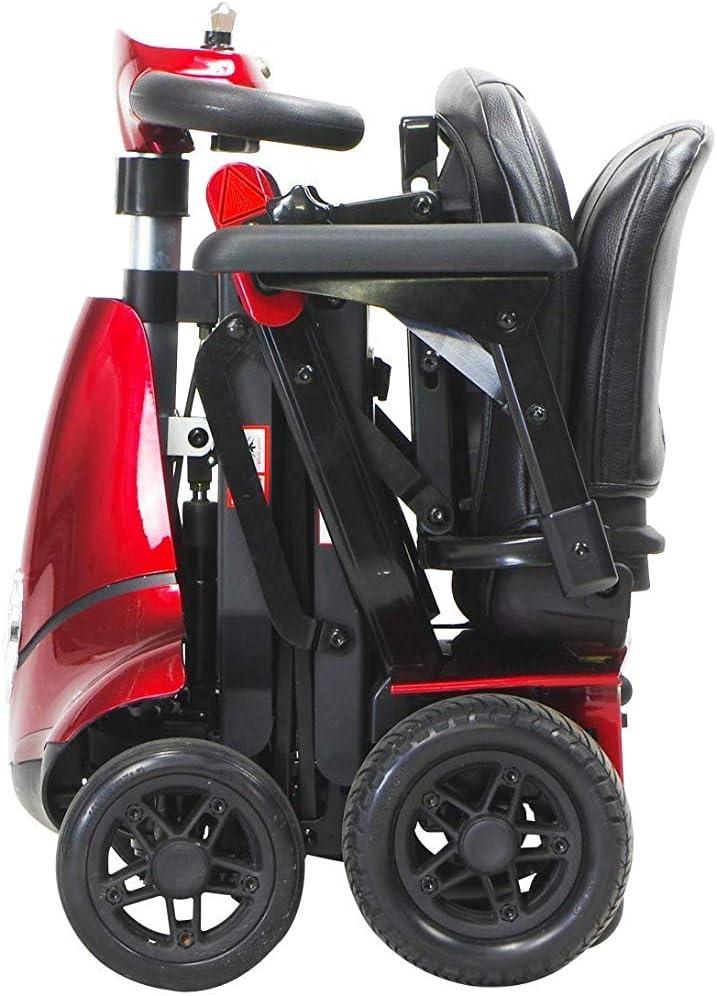 CHAIR Silla de ruedas, silla de rehabilitación médica para personas mayores, personas mayores, Monarch Mobie Plus Scooter de movilidad plegable Scooters eléctricos de 4 ruedas para adultos