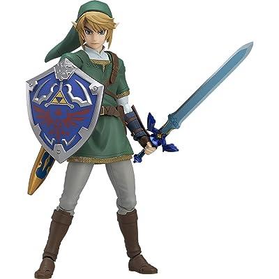 Good Smile The Legend of Zelda Twilight Princess Link Figma Action Figure: Toys & Games