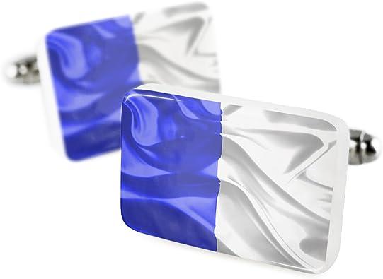 Gemelos la palma 3d bandera región: España porcelana cerámica Neonblond: Amazon.es: Joyería