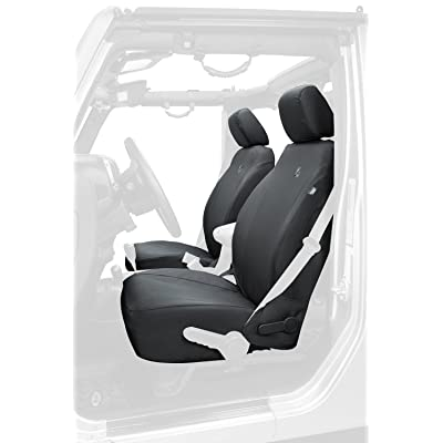 Bestop 2928335 Black Diamond Front Seat Covers for 2013-2020 Wrangler JK 2-door/4-door: Automotive