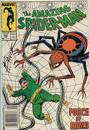 Autographed Amazing Spider-Man #296 NM Signed Alex Saviuk