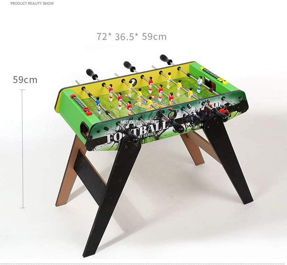 AK De mesa partido de fútbol, deporte Calidad de escritorio de madera Tarjeta de futbolín - Clásico Ligero y portátil novedad retro Inicio Arcade Familia,A: Amazon.es: Bricolaje y herramientas