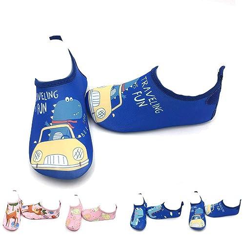 LYworld Niños Niña Zapatos de Agua Descalzo Barefoot Respirable Zapatos de Playa Aire Libre Calcetines de Natación Piscina Surf Yoga Zapatos de niño ...