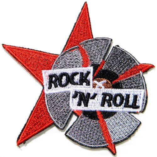ROCK N ROLL Music Band Logo Punk Rock Rockabilly Jacket T-shirt Patch Sew Iron on Badge Sign Costum