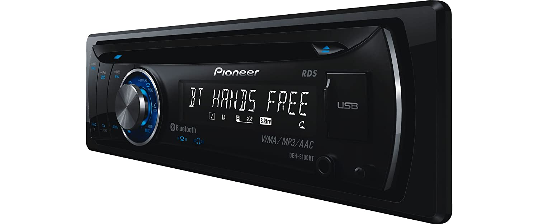 Pioneer Deh 6100 Bt Cd Mp3 Tuner Elektronik Avh P3100dvd Bluetooth
