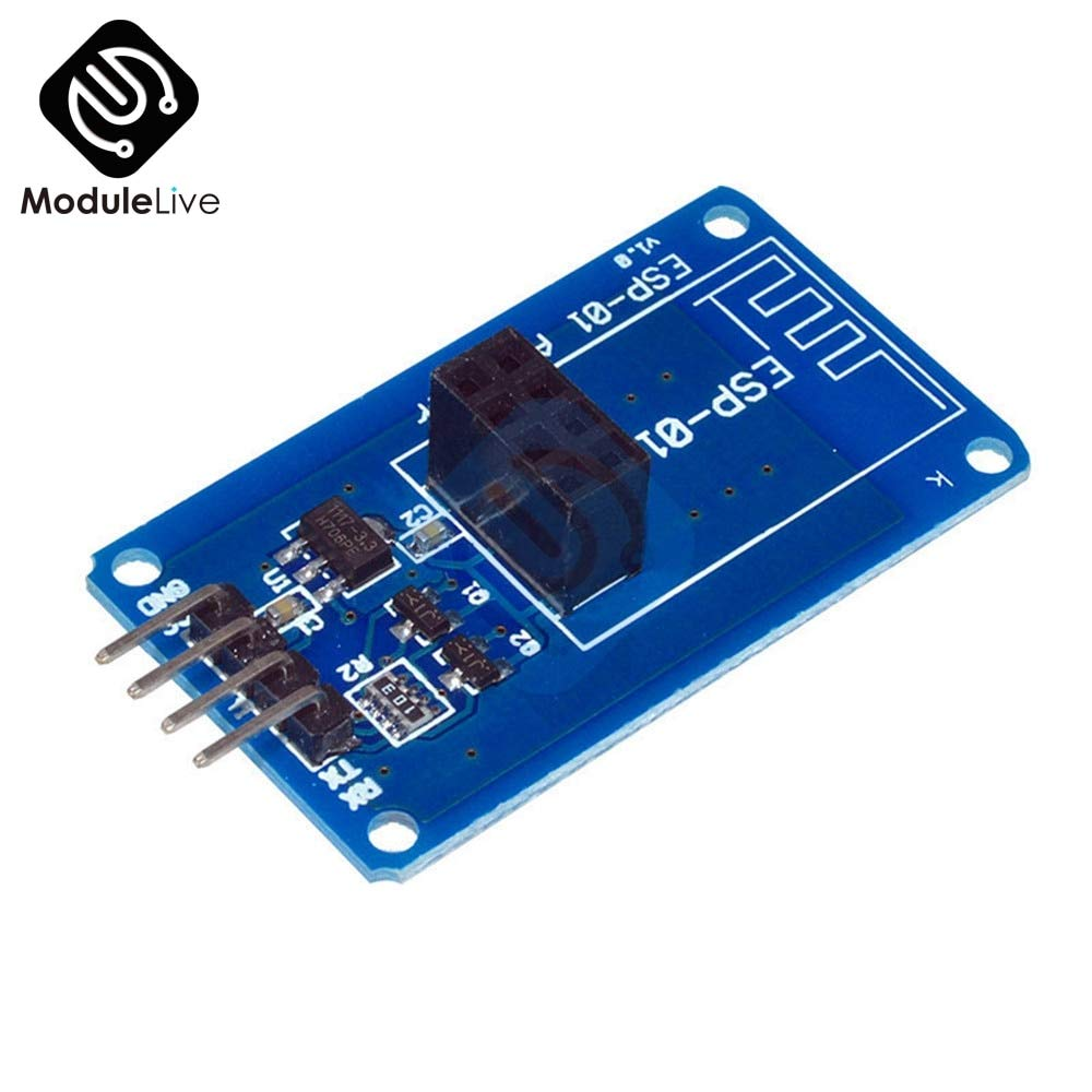 Fincos ESP8266 ESP01 ESP-01 Serial WiFi Wireless Adapter