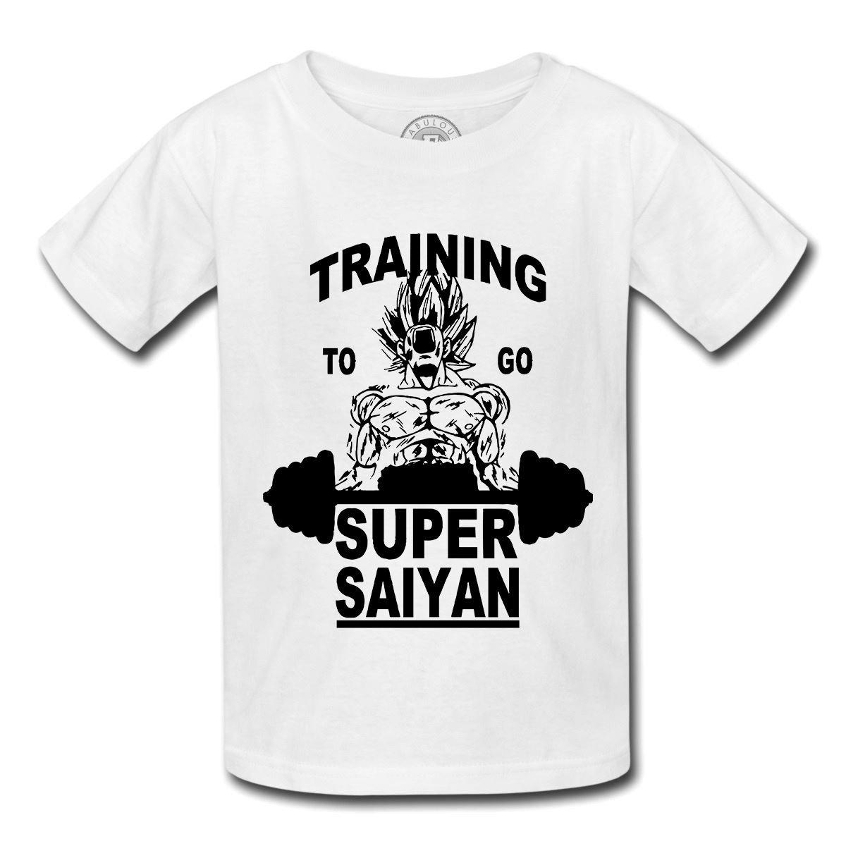 Fabulous T-Shirt Bambino Dragon Ball Formazione Super Sayan Goku Fabulous Bijoux