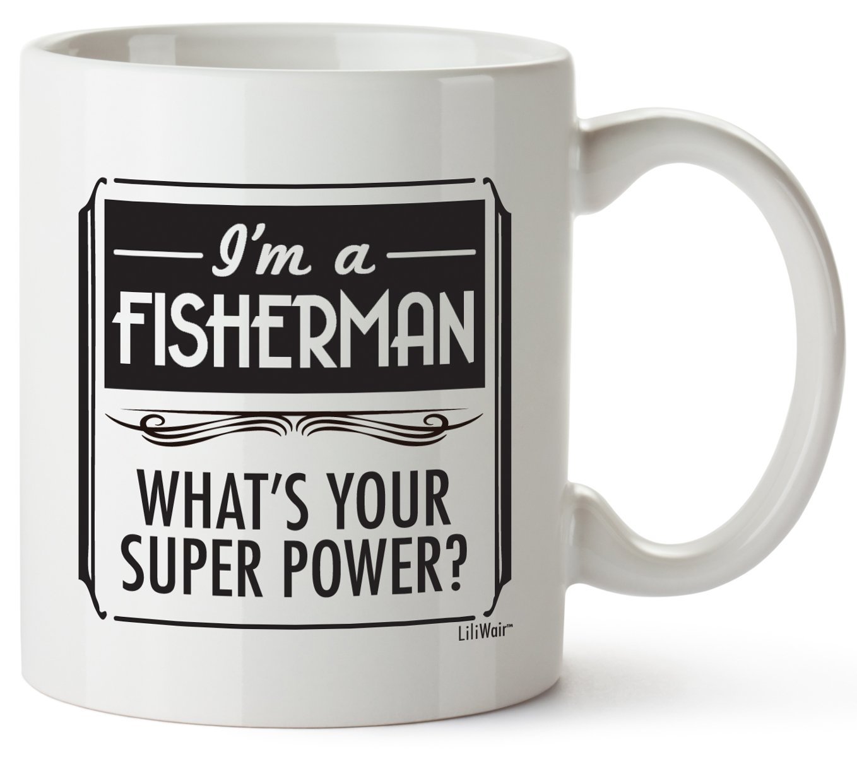 Fisherman Gifts For Men Women Christmas Gift Boyfriend Girlfriend Husband Birthday Set Fishermans Gag Basket Box Joke Prime Funny Him The Best Cool