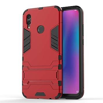 FLHTZS Funda Huawei P Smart (2019),Carcasa Huawei P Smart (2019) Stent Invisible TPU + PC combinación Aspecto,Ajuste Simple Elegante Generoso ...
