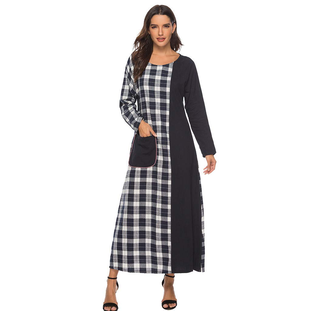 MAYOGO Damen Kleider Kleider Sommer Damen Lang Maxikleid ...