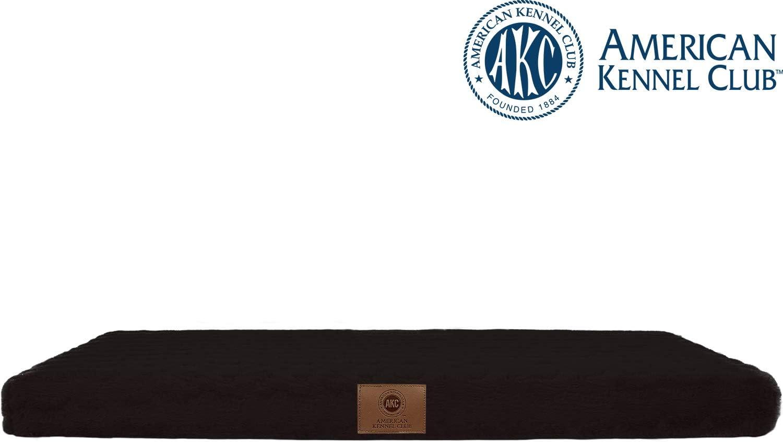 "American Kennel Club AKC6462 Grey Orthopedic Pet Dog Mat Bed 36/"" x 23/"""