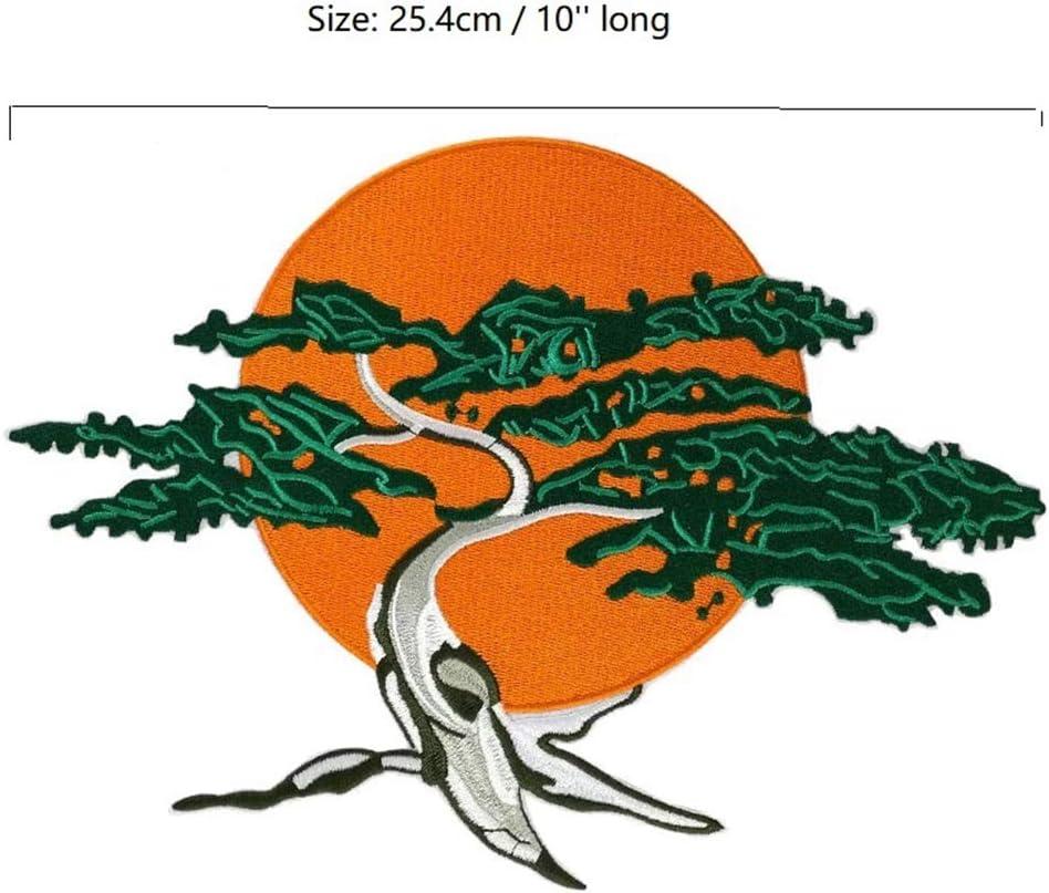 Amazon Com 10 Miyagi Do Karate Bonsai Tree Embroidered Iron On Sew On Patch Applique Arts Crafts Sewing
