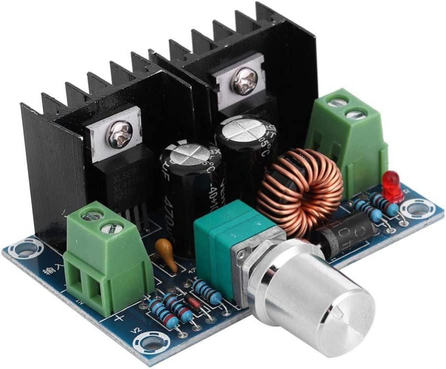 ASHATA DC-DC Wandler Spannungswandler,XH-M401 DC4-40V bis DC1,25-36V 8A Converter Spannungsregler,200W High Power Step Down Converter Spannungsregler Reguliert Stromversorgung