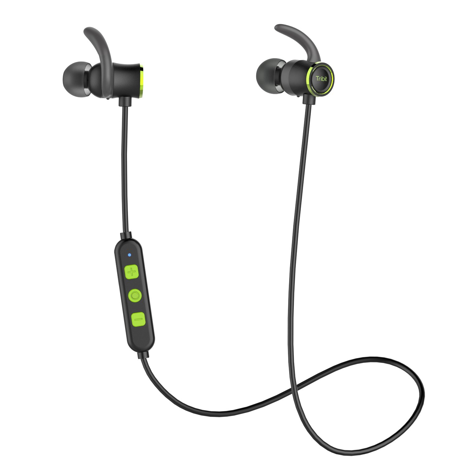 4c95b7c9454c1a Tribit Bluetooth Earbuds with Microphone - Wireless Earbuds Running  Headphones Crystal Clear Sound, Nano Coating Waterproof, Up to 10 Hrs  Playtime - Sports ...