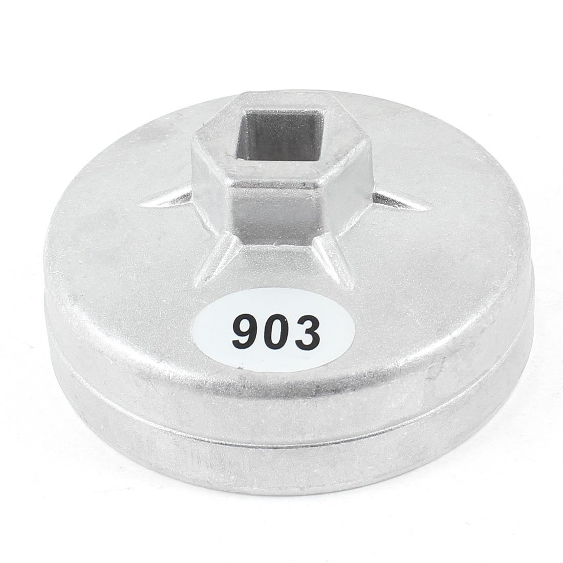 uxcell Car 74mm Inner Dia 14 Flutes Metal Oil Filter Cap Cup Wrench