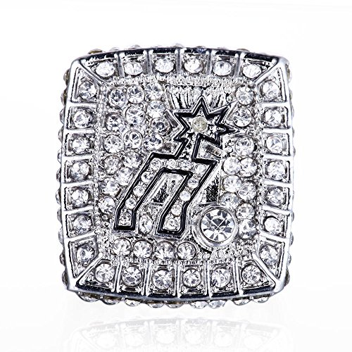 2014 Duncan's Ring San Antonio Spurs NBA Championship Ring Made of Stainless Steel