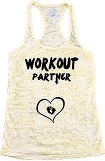 5634c1c02bca0 Workout Partner Burnout Tank Top. Ladies Tank Top. Baby Announcement Top