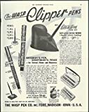 The Wasp Clipper Fountain Pens & Rite-O-Way Pen - Best Reviews Guide