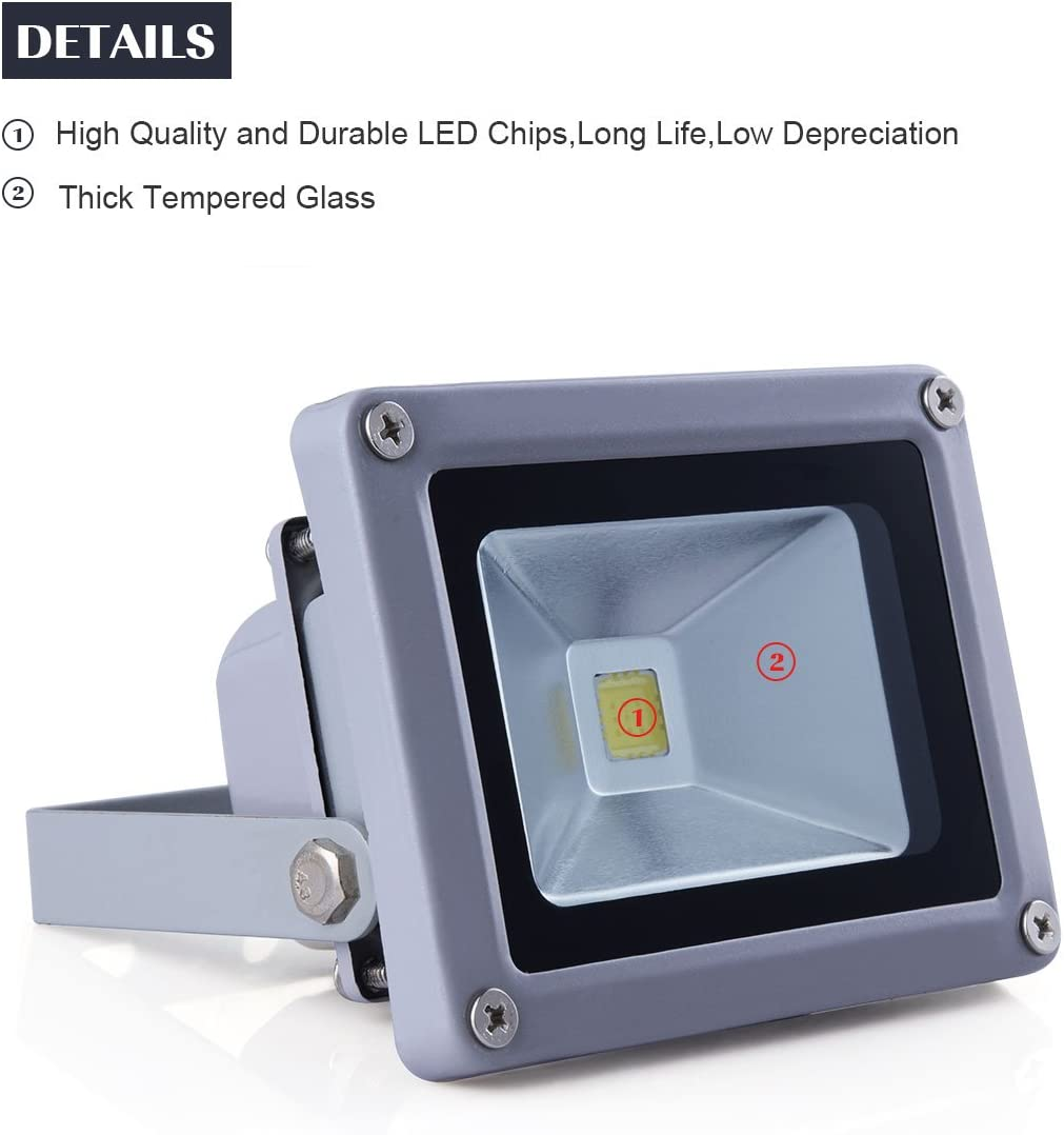 10w Outdoor IP65 Low Energy Floodlight