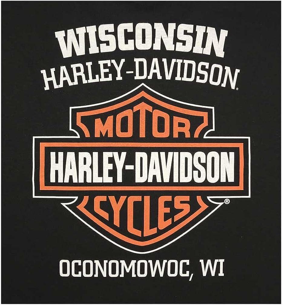 Harley-Davidson Mens Classic Bar /& Shield Logo Sleeveless Muscle Tee Black