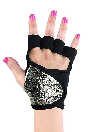 Las mujeres de Gel guantes de estudio para Yoga Pilates ...