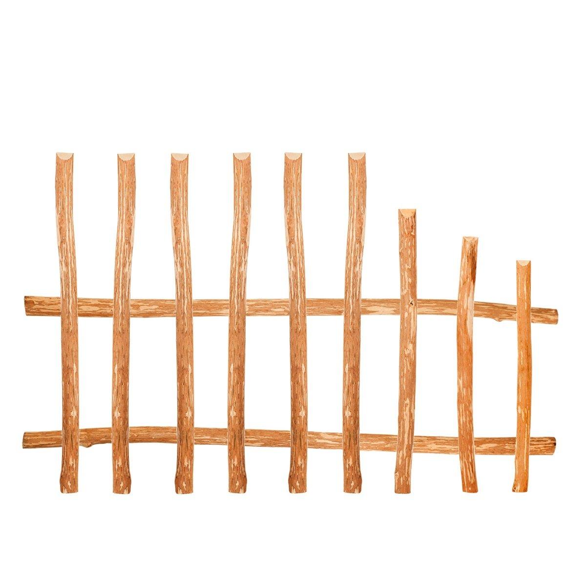 claire-voie Lattes de cl/ôture en planches de noisetier /• Planches de cl/ôture /à construire soi-m/ême pour cl/ôture en bois cl/ôture /à lattis oucl/ôture en ch/âtaigner. marron