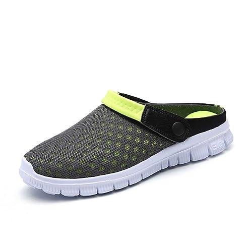 Zapatillas zuecos 47 verde Zapatos Mujer Hombre Ligeros Respirable Sanitarios De 45 Playa Sandalias Verano Eu Cn CrdBxoe