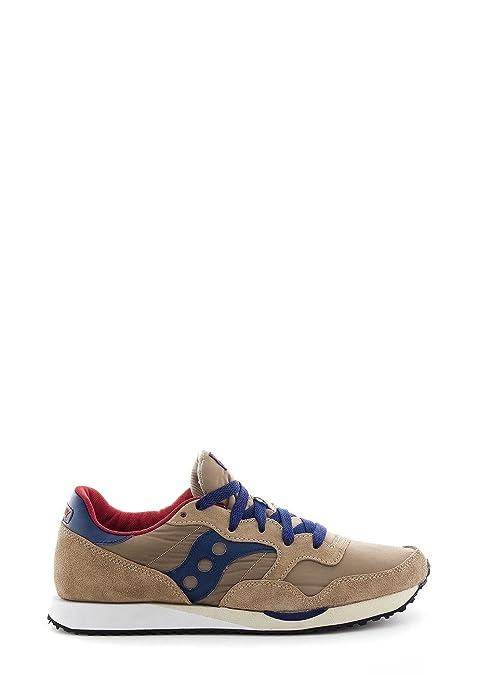 Saucony Uomo Scarpe Sneaker DXN Trainer Articolo 70124-10 F Tan-Navy A15  Taglia 1d20091fa39