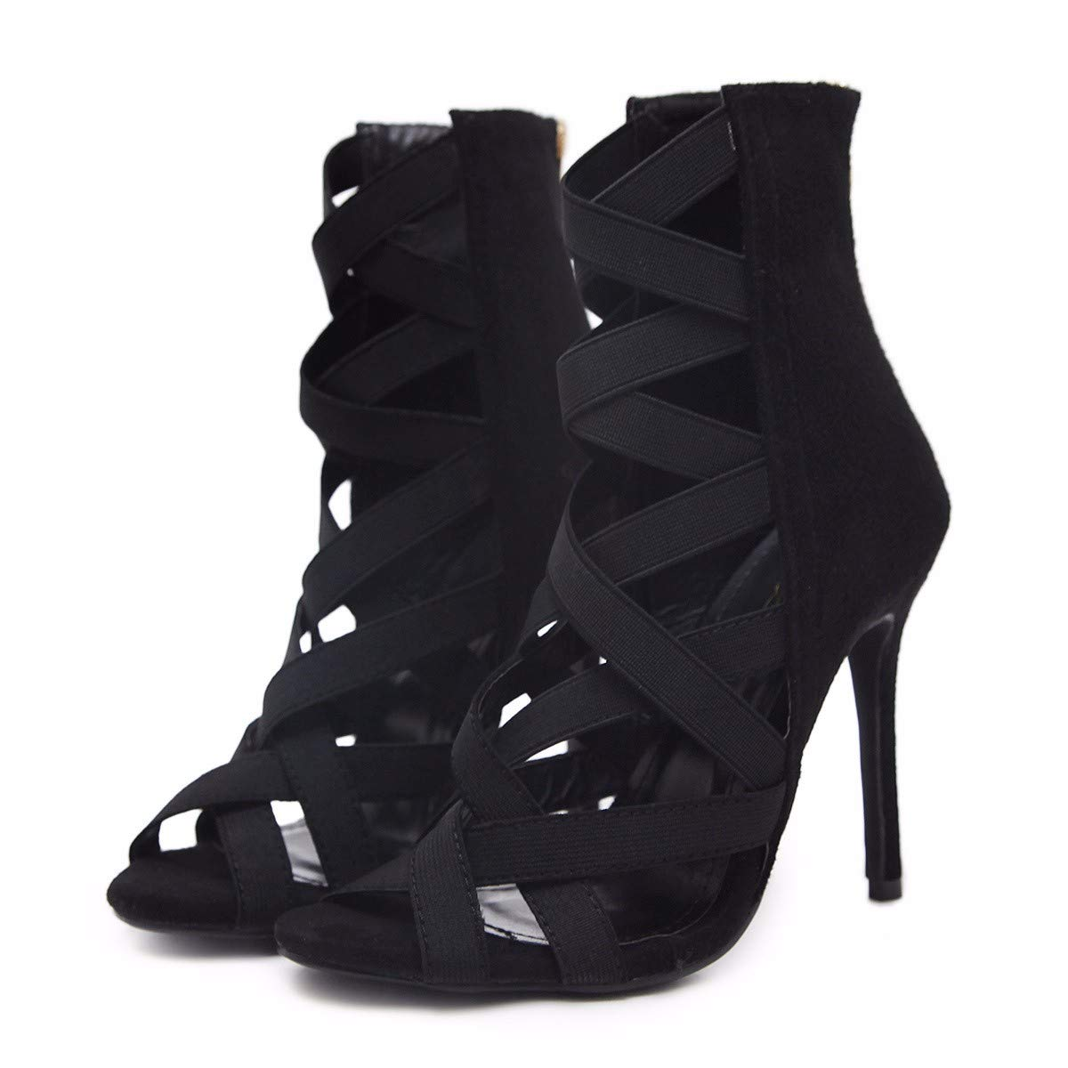 KOKQSX-Damenschuhe europäischen und amerikanischen Sandalen Mode high Heels